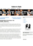 Salute to Style July 2011